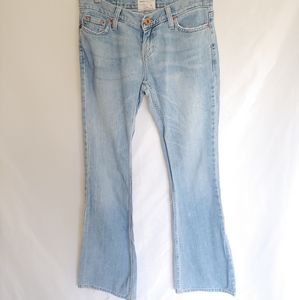 American Eagle Light Blue Boot Cut Flare Jeans